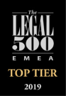 Legal 500 Top Tier 2016